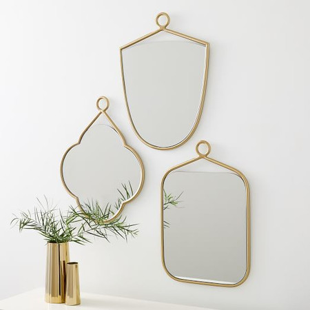 Decorative Loop Mirror