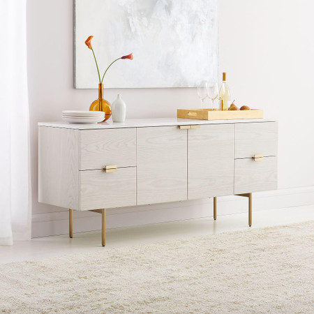 Delphine Sideboard - Feather Grey