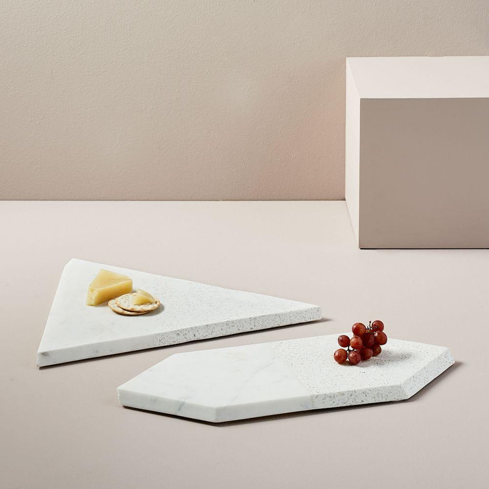 Edge Marble & Terazzo Marble Serving Boards