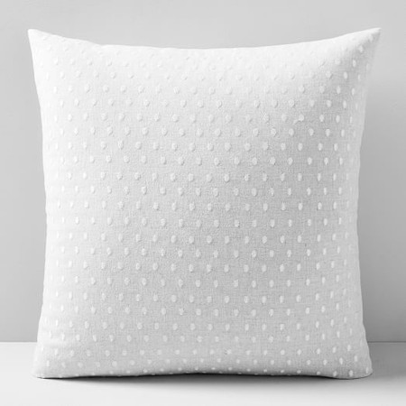 Embroidered Dot Cushion Cover