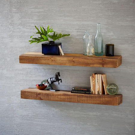 Reclaimed Wood Floating Shelf West Elm United Kingdom