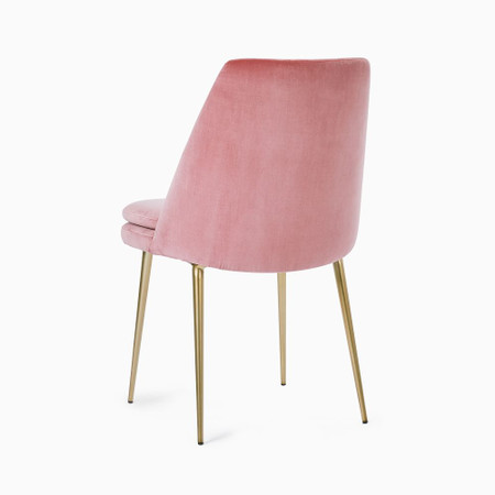 Finley Low Back Upholstered Dining Chair West Elm United Kingdom