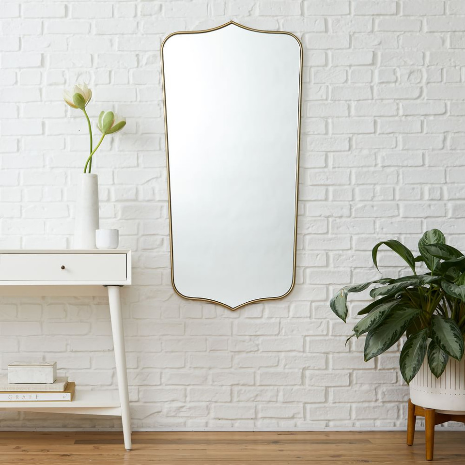 Florence Shield Wall Mirrors