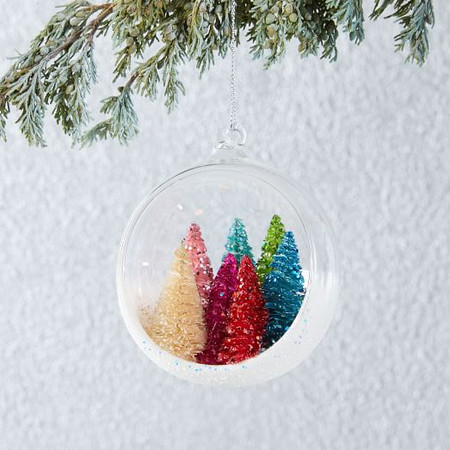 Forest In Glass Ball Ornament
