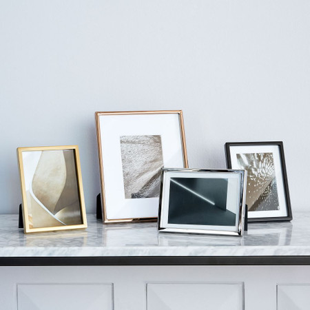 Gallery Frames Polished Brass West Elm United Kingdom