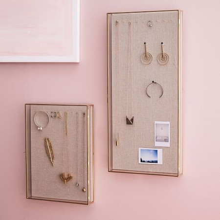 Glass Shadow Box Wall Display Cases