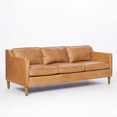 Hamilton Leather Sofa (206 cm)