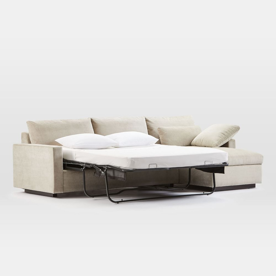 Harmony Chaise Sofa Bed w/ storage