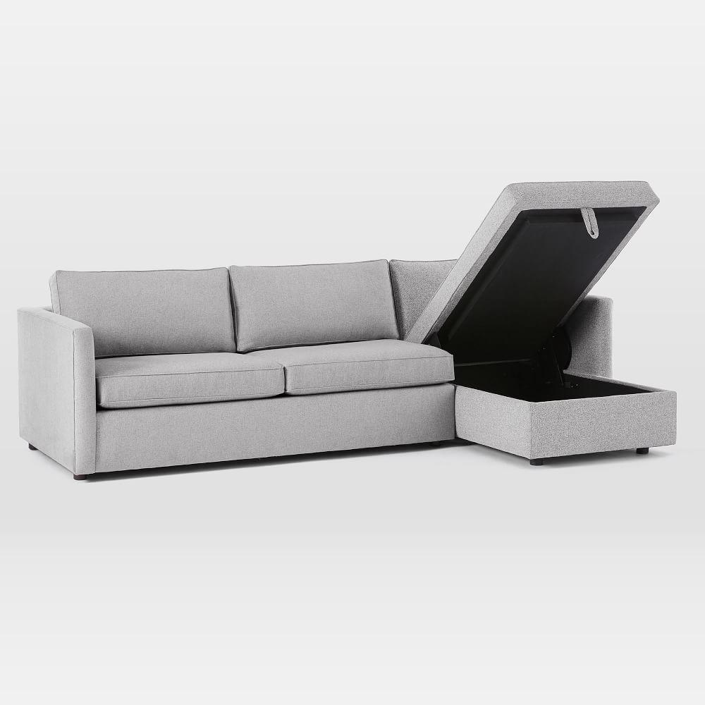 Harris Chaise Sofa Bed w Storage