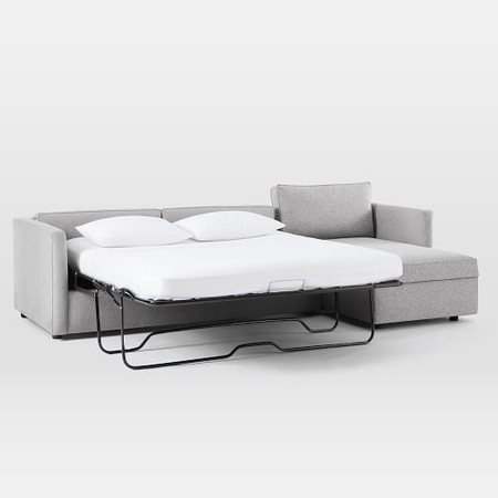 Harris Sleeper Sectional w/ Storage Chaise