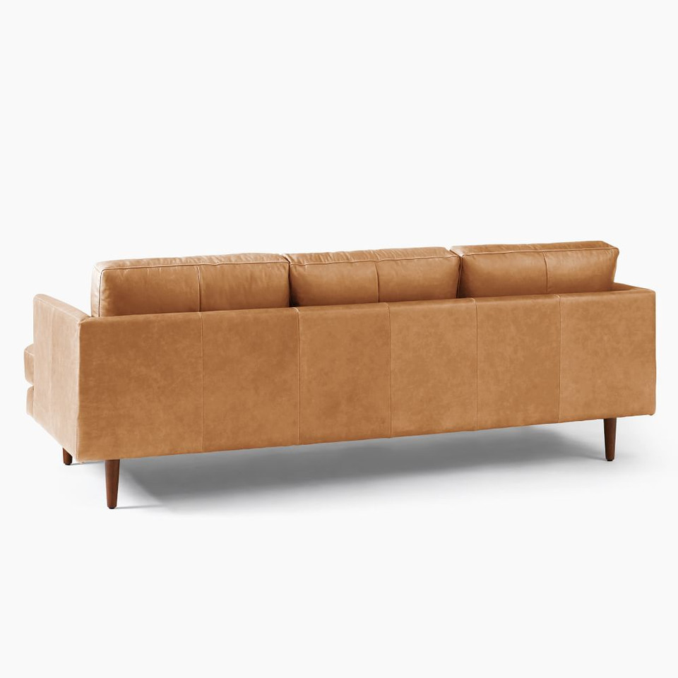 Haven Loft Leather Sofa (218 cm)