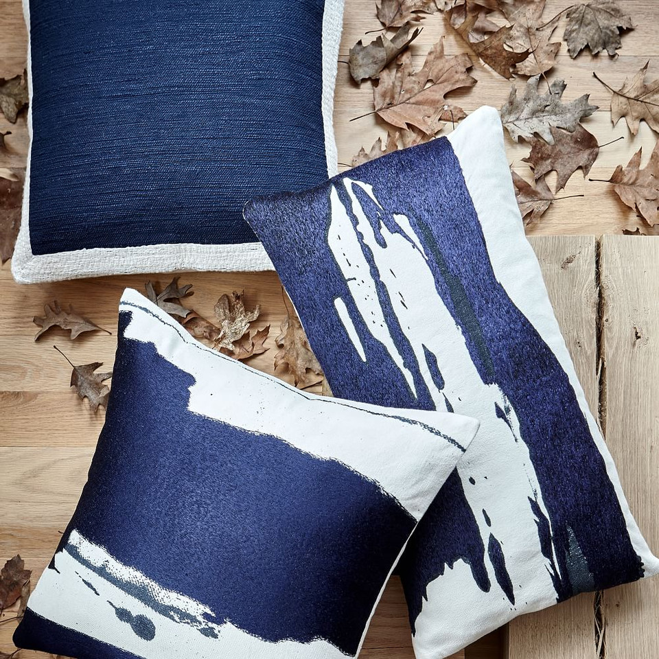 Ink Splash Cushion Covers