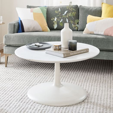 Liv Coffee Table - White Marble