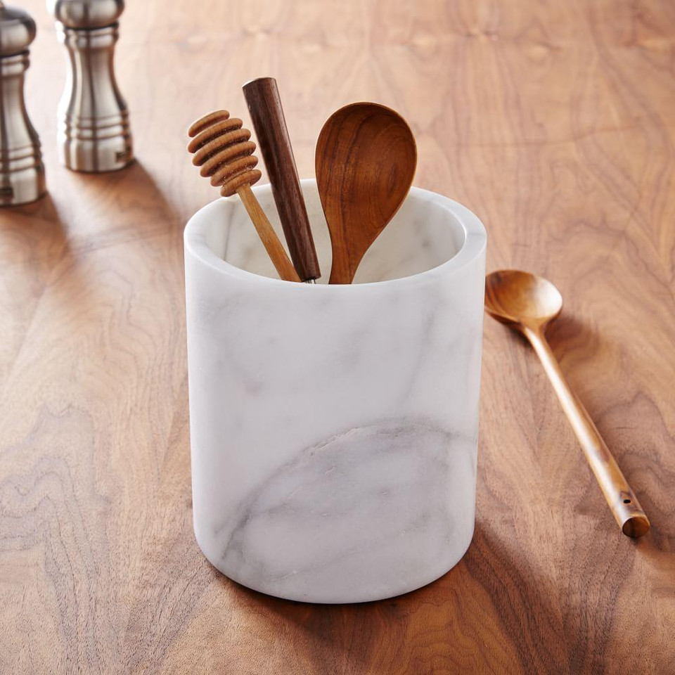 Marble Kitchen Utensil Holder