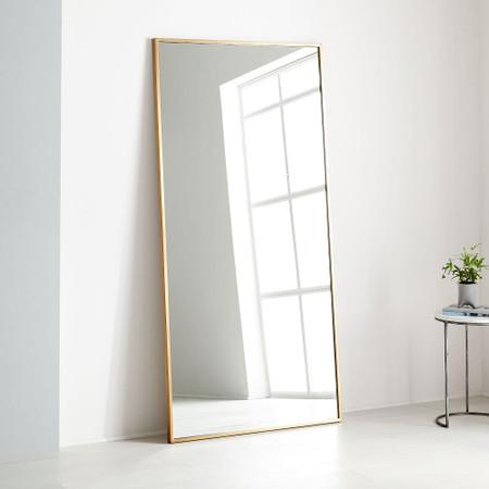 Metal Frame Oversized 198 Cm Floor, Huge Wall Mirror Uk