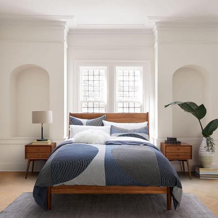 Mid Century Bed Acorn West Elm United Kingdom