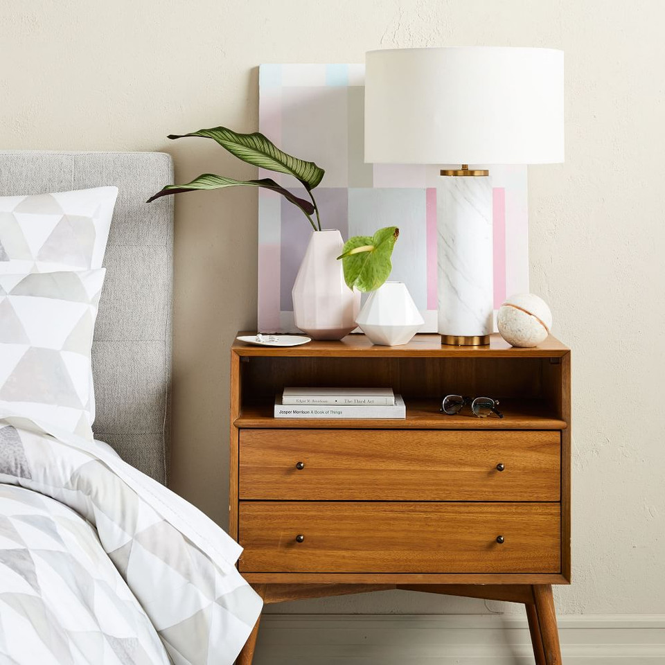 Mid-Century Bedside Table - Grand