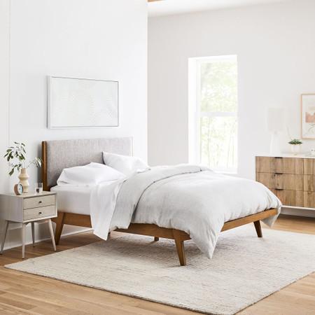 Modern Bed West Elm United Kingdom, West Elm Bedroom Furniture