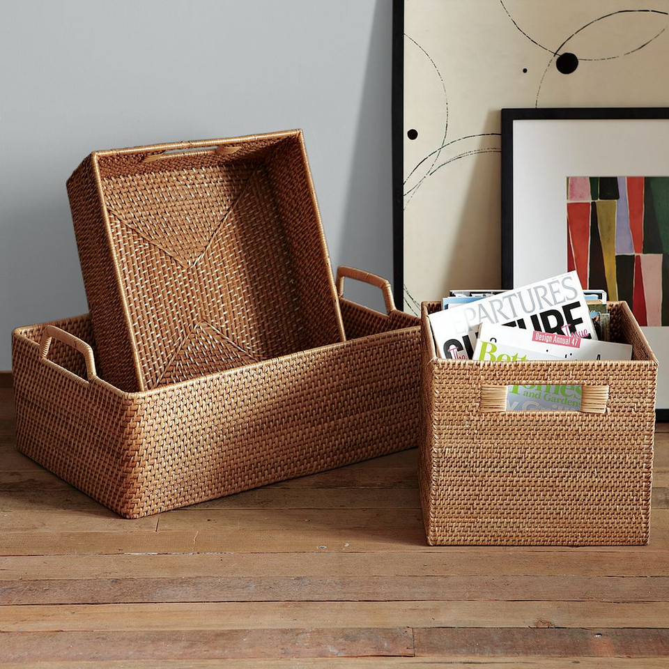 Modern Weave Harvest Baskets
