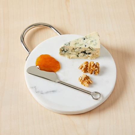 Nickel & Marble Cheese Board