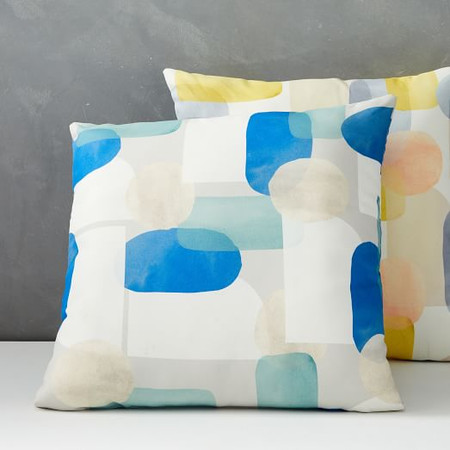 Garden Overlapping Shapes Cushion