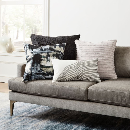 Painterly Brocade Cushion Cover West Elm United Kingdom