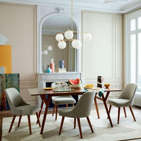 Mid Century Expandable Dining Table Walnut West Elm United Kingdom