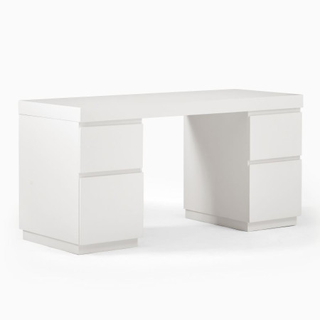 Parsons 2 File Cabinets & Desk Set