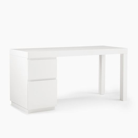 Parsons File Cabinet Desk Set