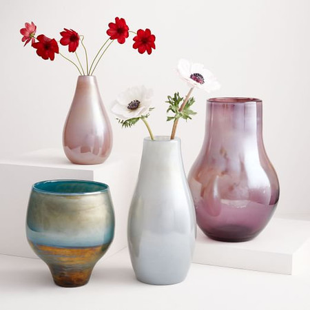 Pearlescent Vases