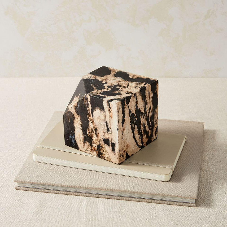 Petrified Wood Cube