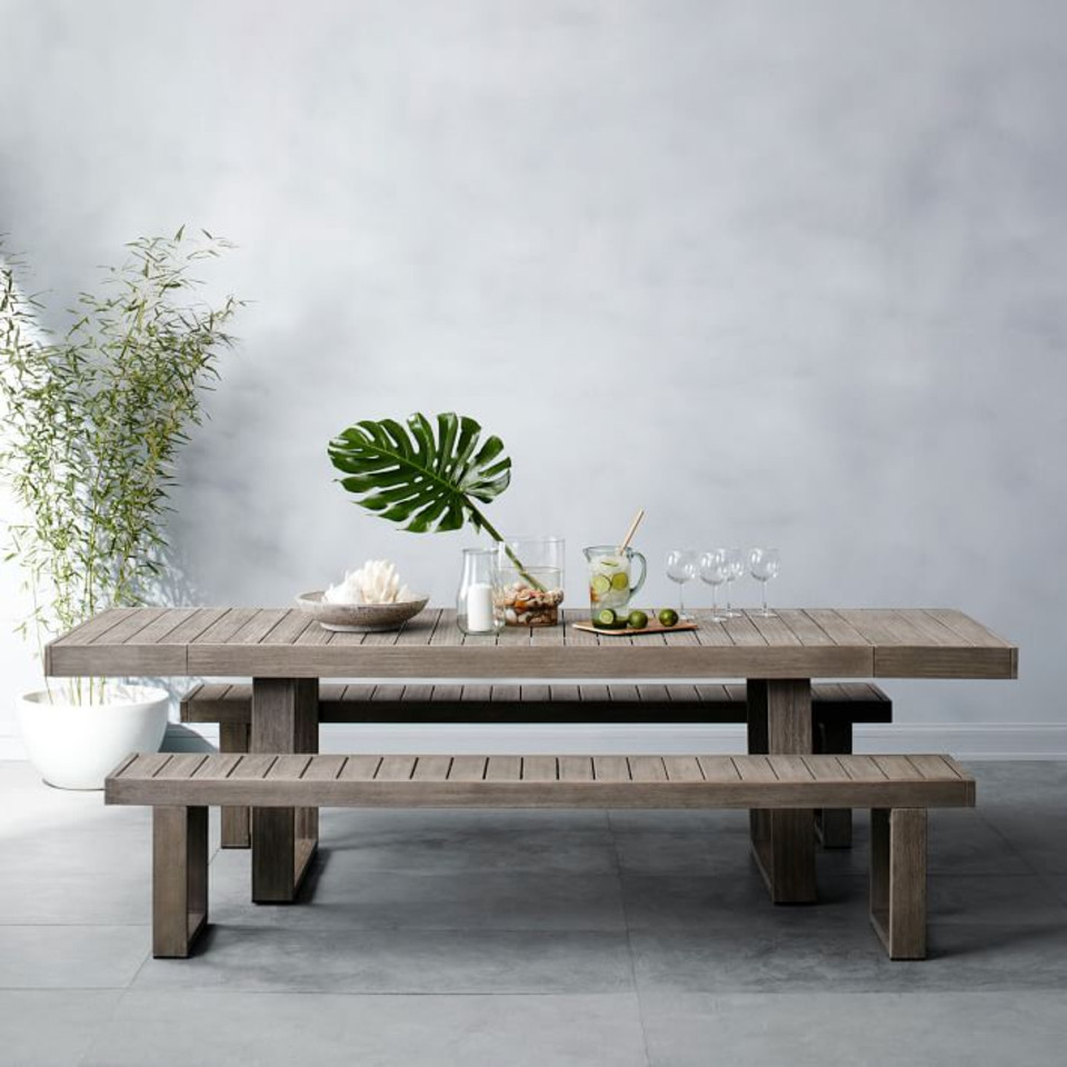 Portside Garden Expandable Dining Table