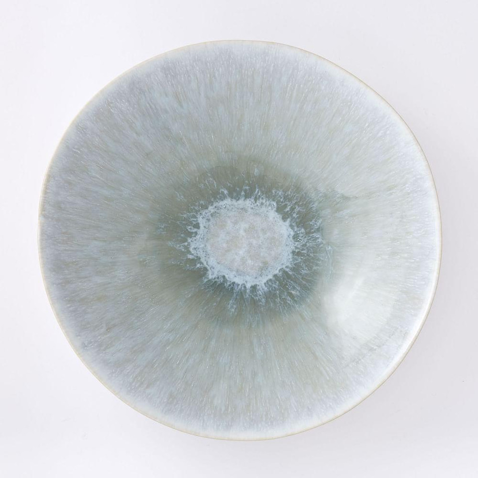 Reactive Glaze Serveware - Dusty Mint