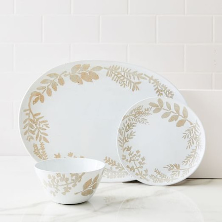 Richmond Speckled Dinnerware Collection - Botanical