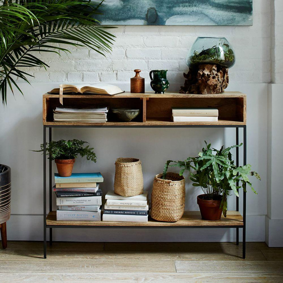 Industrial Storage Open Console - Raw Mango