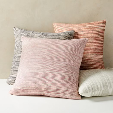 Silk Ombre Striations Cushion Covers
