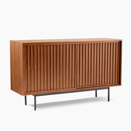Slatted Buffet - Walnut