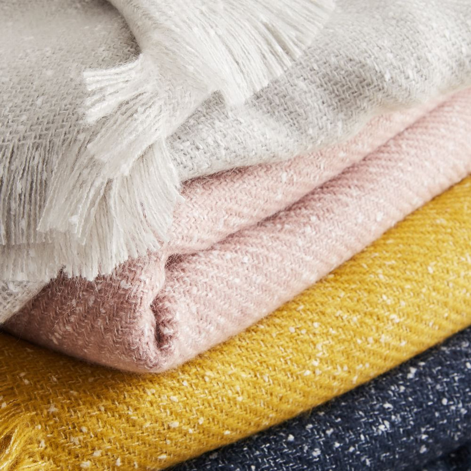 Speckled Throws
