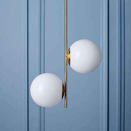 Sphere & Stem Ceiling Lamp