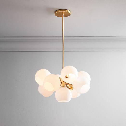 Pelle Asymmetrical Chandelier 4 Light | west elm I
