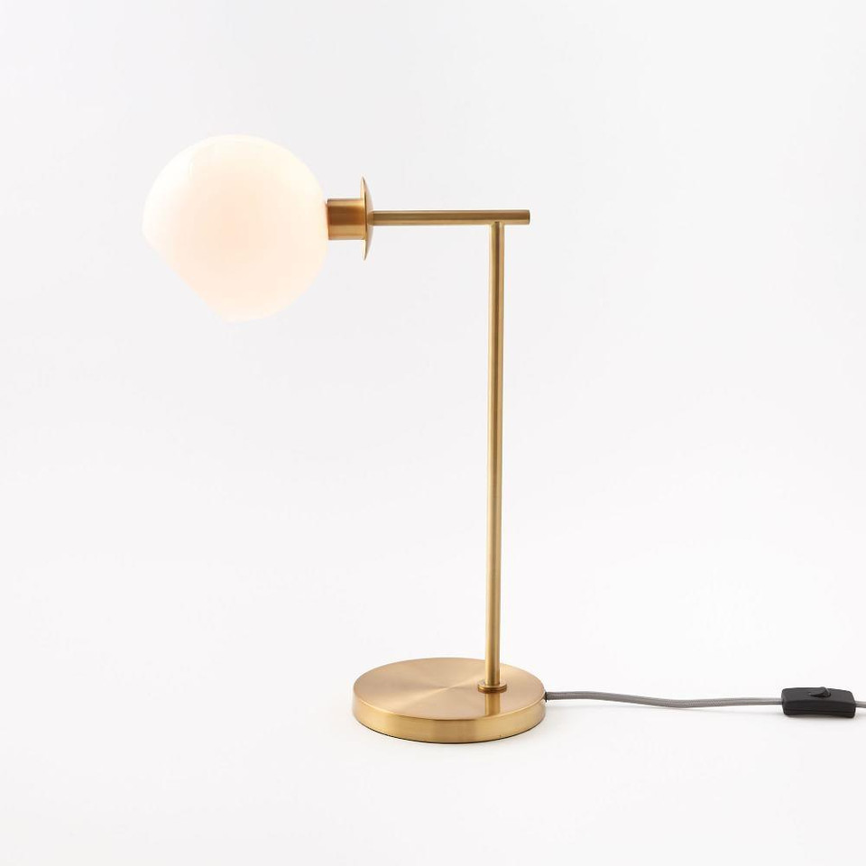 Staggered Glass Table Lamp West Elm United Kingdom