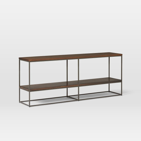Streamline Bookshelf (152 cm) - Dark Walnut Mango Wood