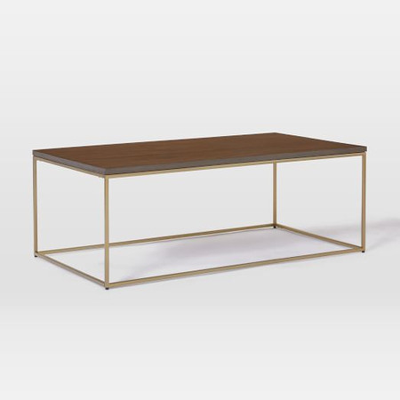 Streamline Coffee Table (112 cm) - Dark Walnut