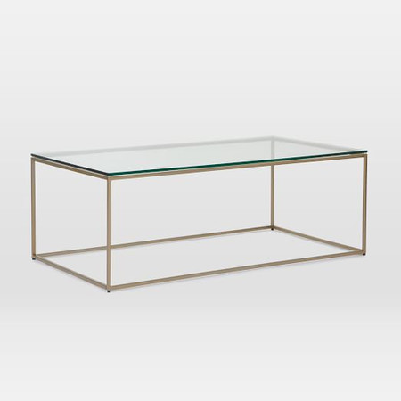 Streamline Coffee Table (112 Cm) - Glass