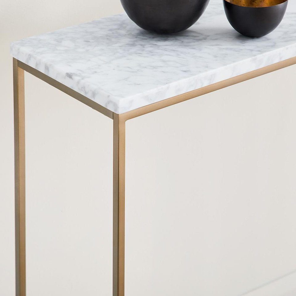 Streamline Console - Marble