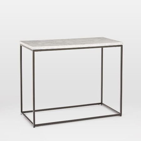 Streamline Side Table (71 cm) - Marble