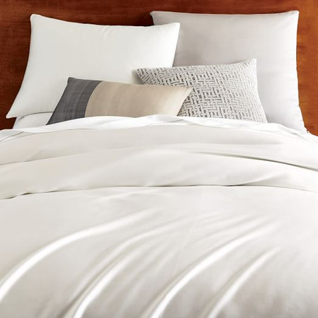 TENCEL™ Duvet Cover & Pillowcases - Stone White