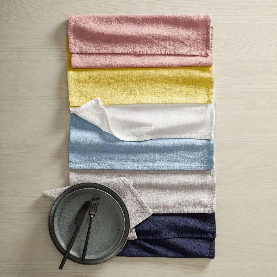 Textured Cotton Napkins (Set of 4)