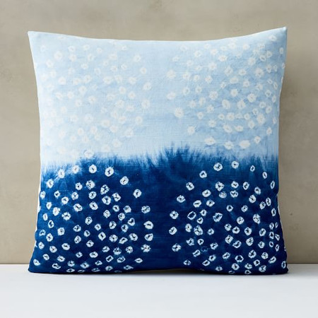 Tie-Dye Dots Cushion Cover