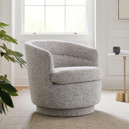 Viv Swivel Armchair West Elm United, Spinning Sofa Chair